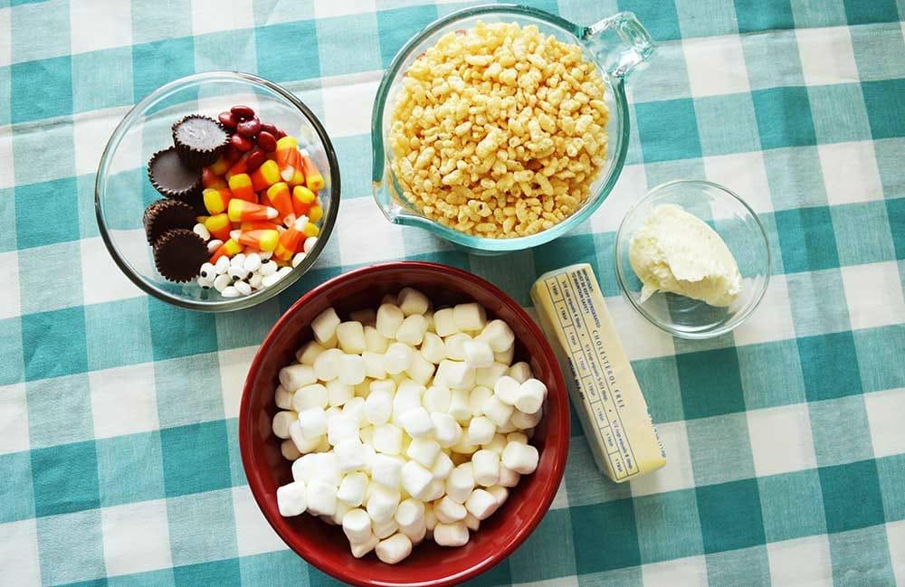 Turkey Rice Crispy Treats Ingredients
