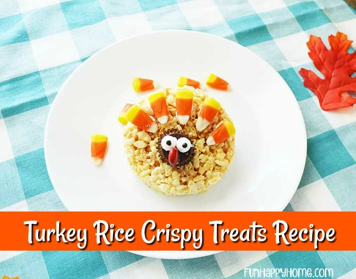 Adorable Turkey Rice Crispy Treats That Will Wow Your Guests