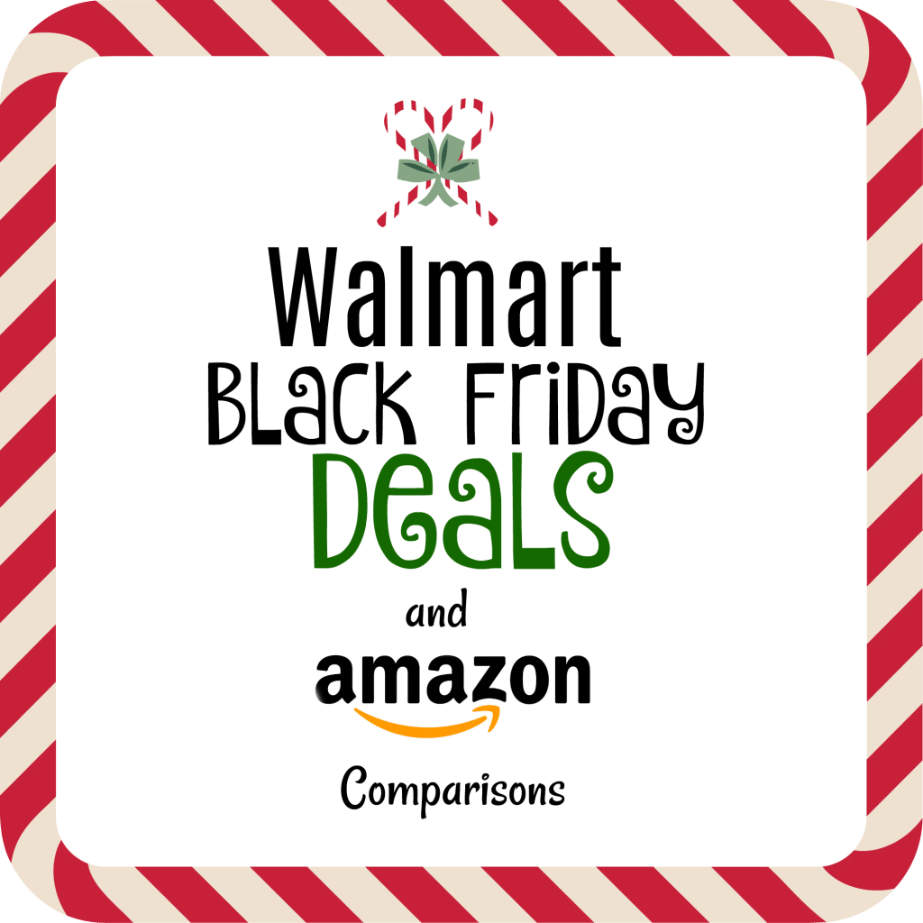 Walmart Black Friday Deals and Amazon Comparisons