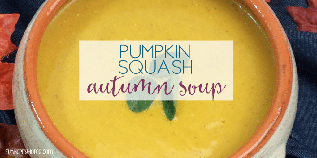 This Pumpkin Butternut Squash Soup is the Best Fall Soup