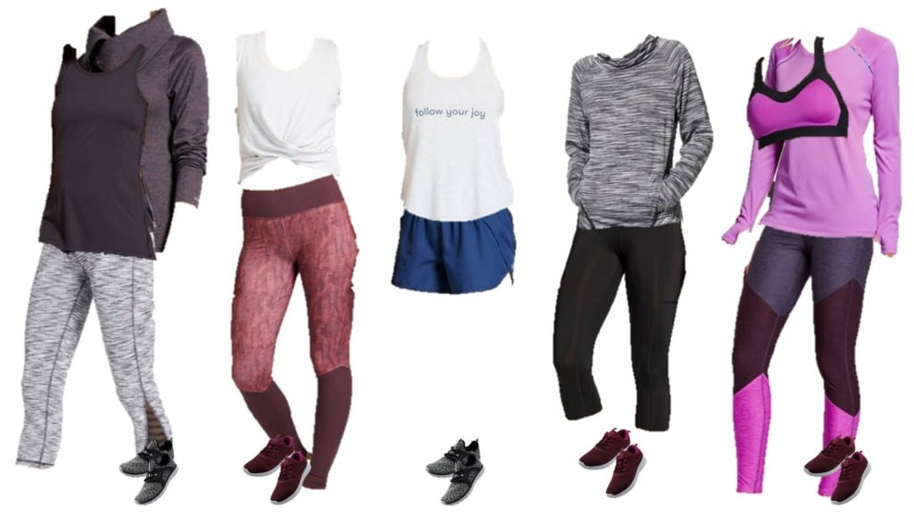 12.28 Mix and Match Athletic Wear - Target 1-5