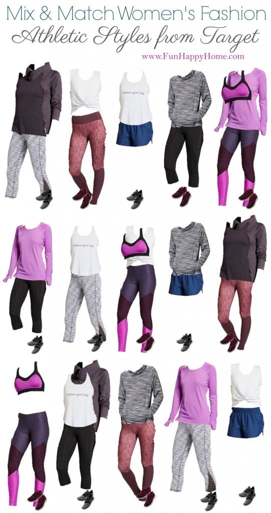 Cute Workout Clothes: Mix & Match Workout Clothing