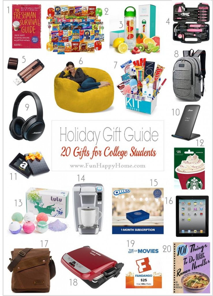 These Gift Ideas for College Students Are Practical, Useful, and Entertaining