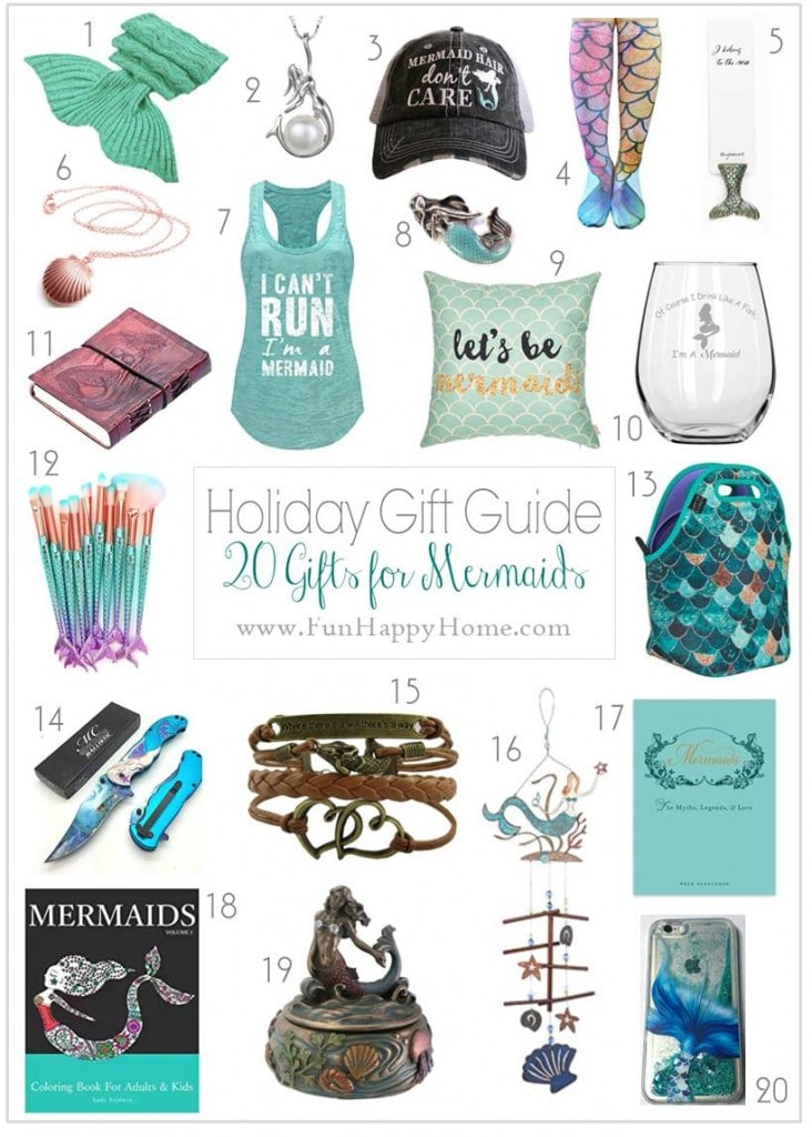 When You See These Mermaid Gifts You'll Wish You Were a Mermaid
