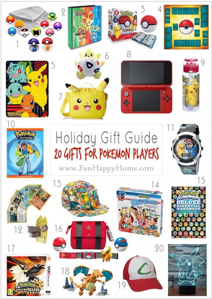 Pokemon Gifts That Are So Awesome You'll Want to Catch 'Em All