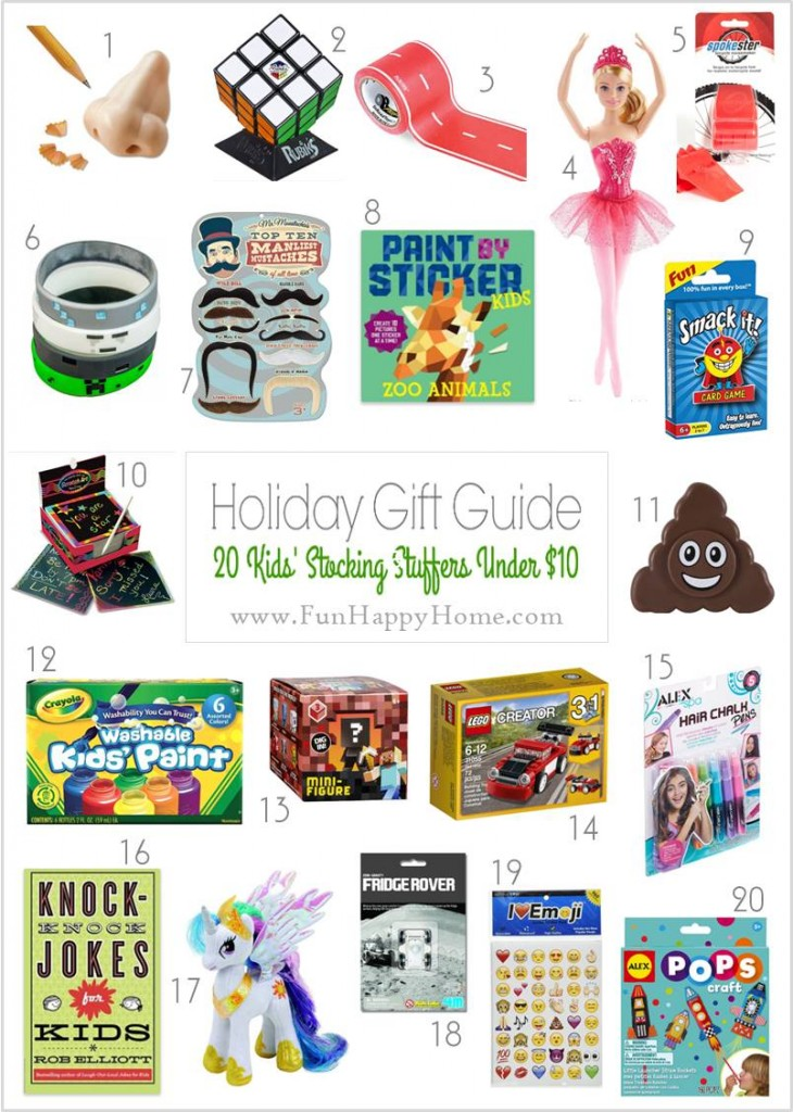 Stocking Stuffers Ideas Kids Will Love: All Under $10