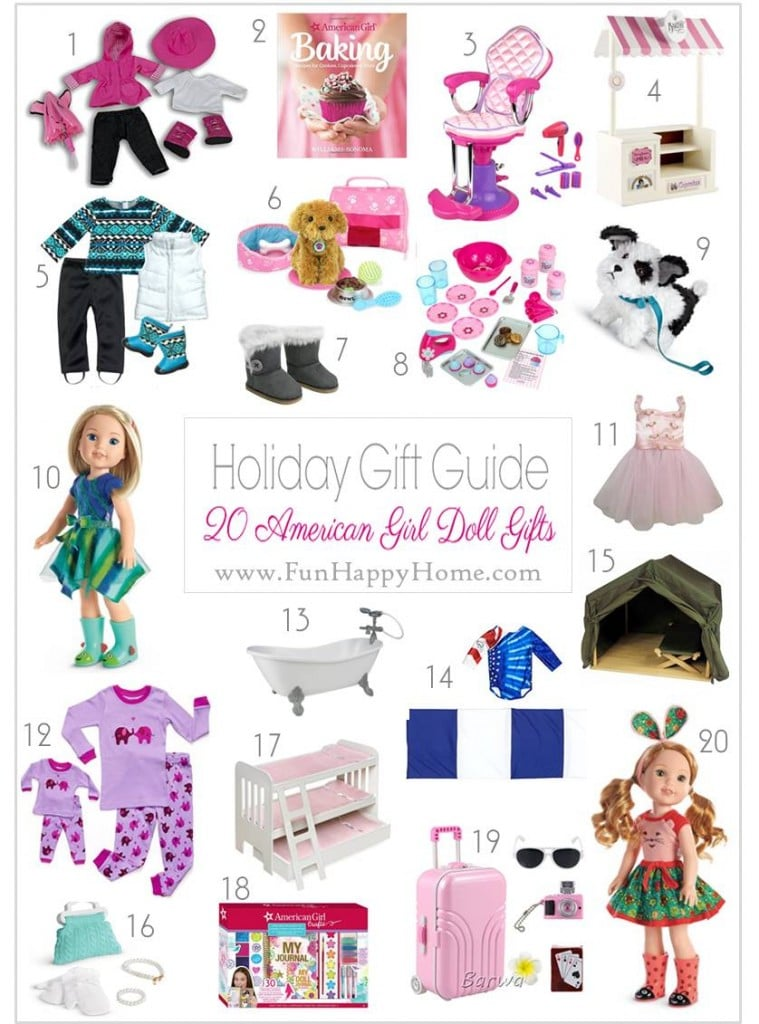 american girl doll accessories - holiday gifts for American girl doll fans