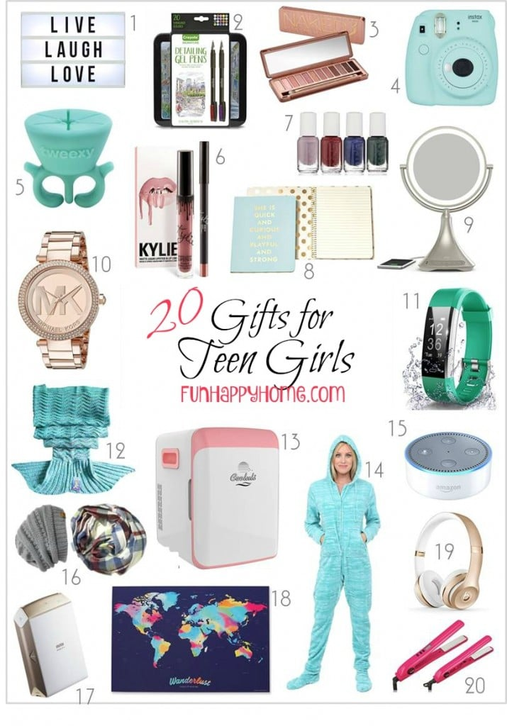 Gifts For Teen Girls That Will Make Them Think You're Cool
