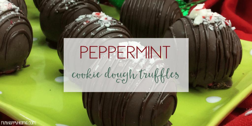 peppermint cookie dough truffles (1)