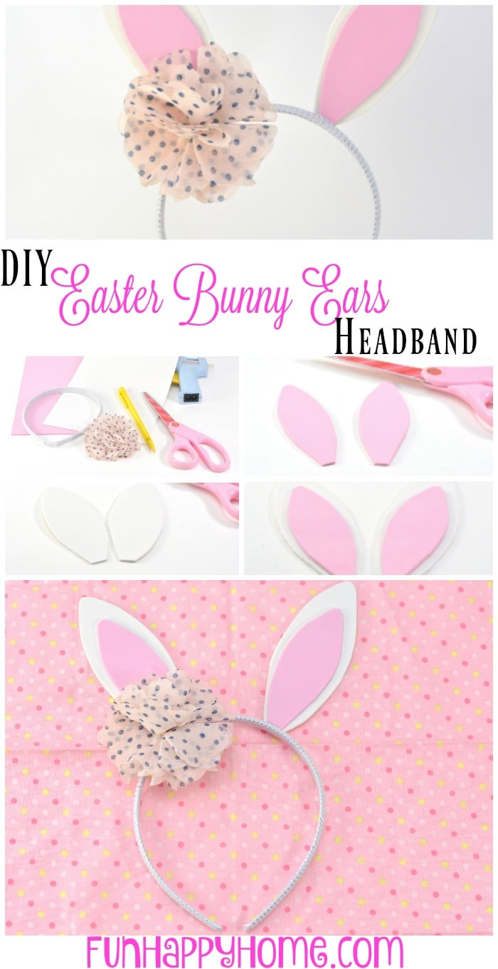 DIY Easter Bunny Ears Headband
