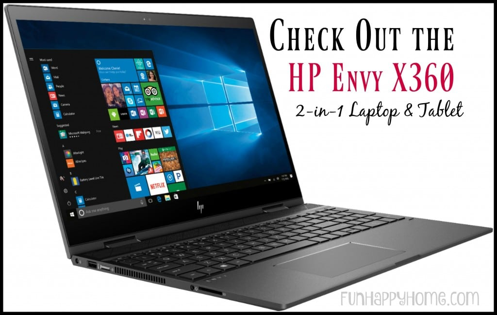 HP Envy x360 Laptop: 2-in-1 Laptop to Tablet Device
