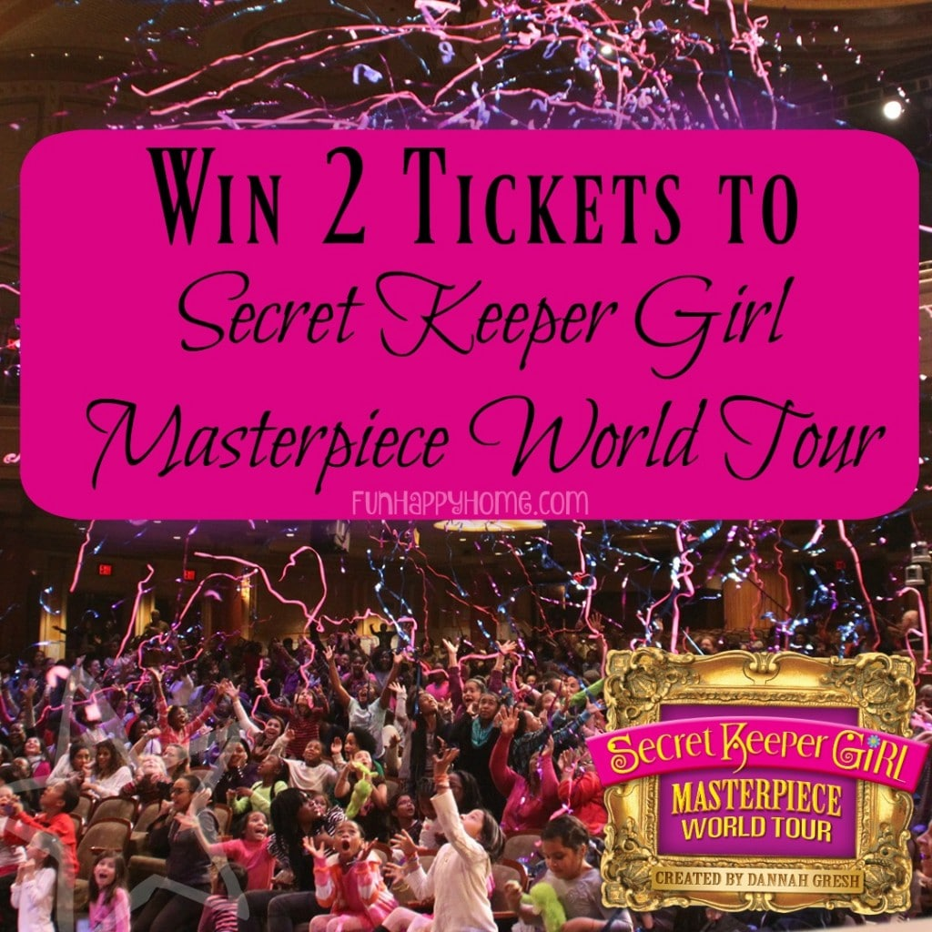 Win 2 tickets to secret keeper girl
