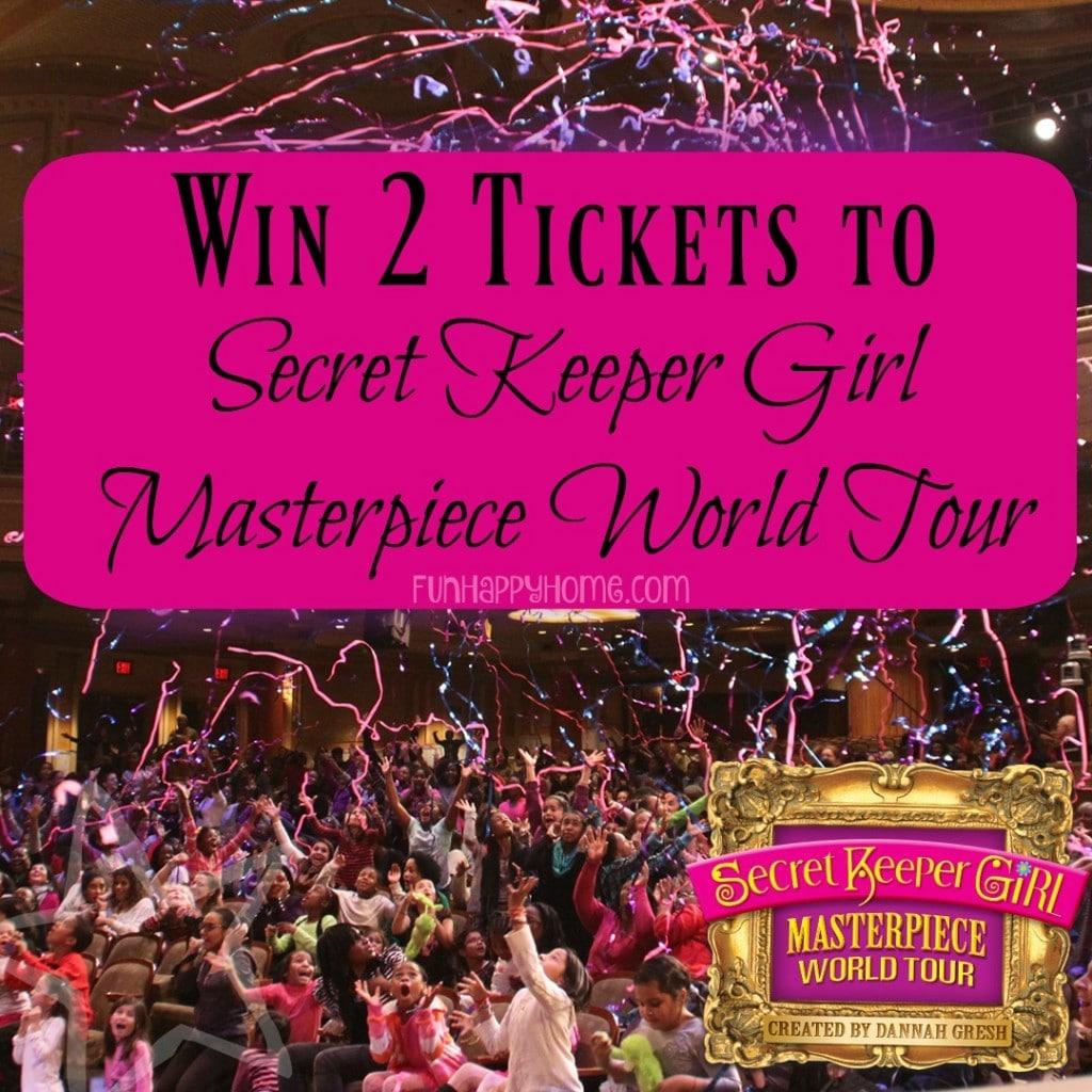 Win 2 tickets to secret keeper girl