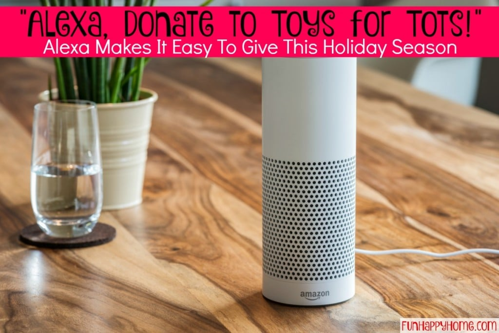 Donate To Toys for Tots with Alexa