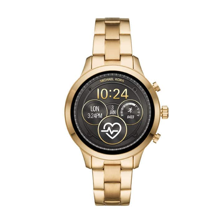 Micheal Kors Access Runway Watch in Gold