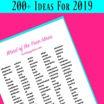 Word of the Year: 200+ Ideas To Help You Choose Your Word