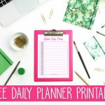 Free Daily Planner Printable That Helps You Get More Done