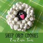 Sheep Oreo Cookies Easy Easter Treats