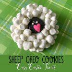 Sheep Oreo Cookies Easy Easter Treats