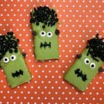 Frankenstein Cookies: Easy Halloween Cookies Kids Can Make
