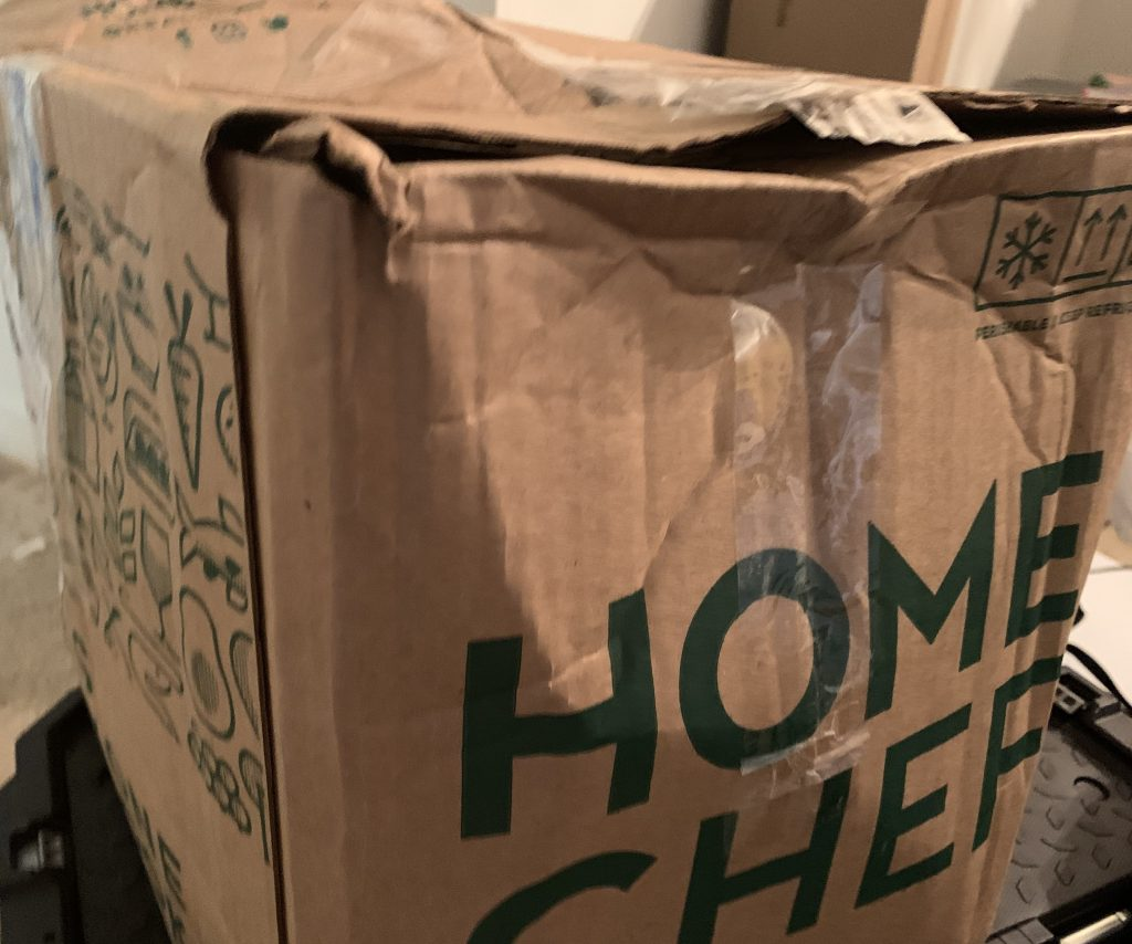 Home Chef Subscription Box
