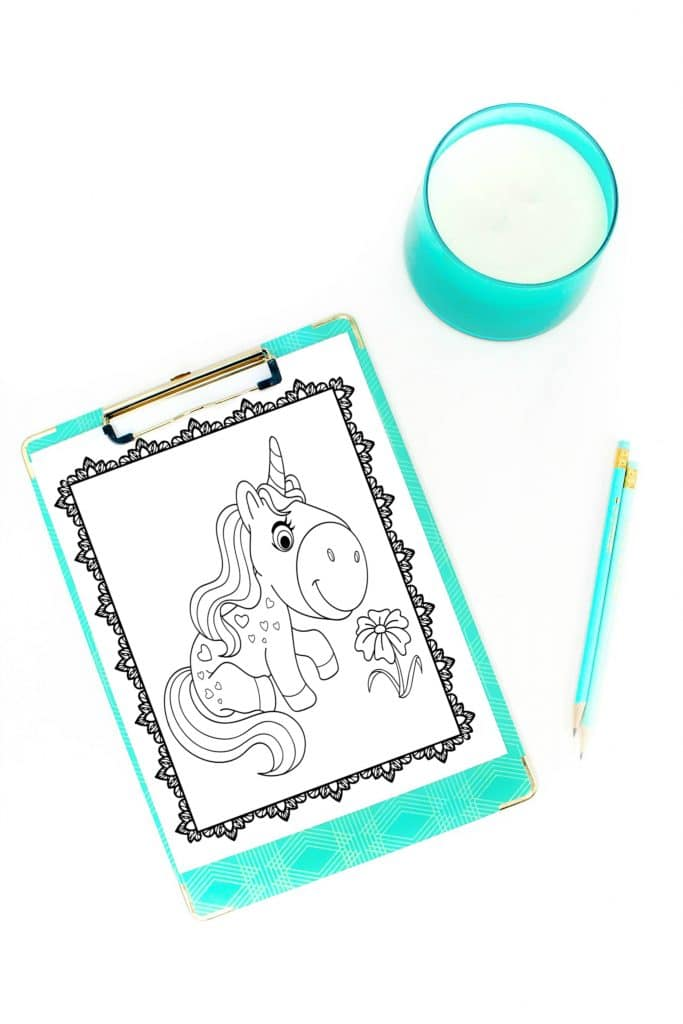 Printable Unicorn Coloring Pages Fun Happy Home