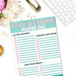 Printable Stay At Home Bucket List