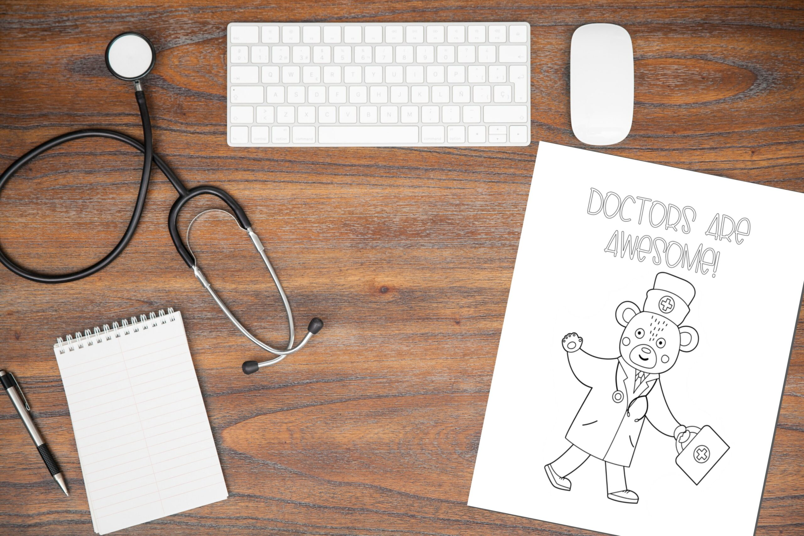 Celebrate Doctor S Day With These Doctor Coloring Pages Fun Happy Home