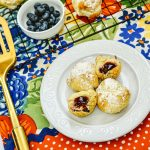Air Fryer Blueberry Dessert Recipe