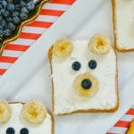 Polar Bear Toast: A Fun Breakfast Idea